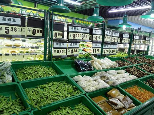 原来四川超市货架对商品的影响极大