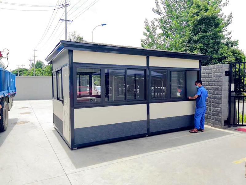 四川钢结构岗亭设计