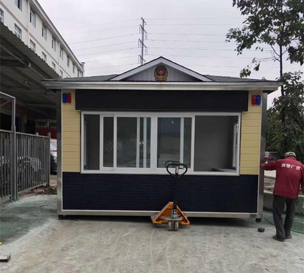 四川钢结构岗亭定制