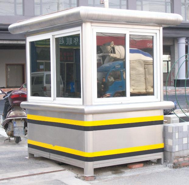 岗亭厂家介绍岗亭常用材料-金属雕花板有哪些特征?