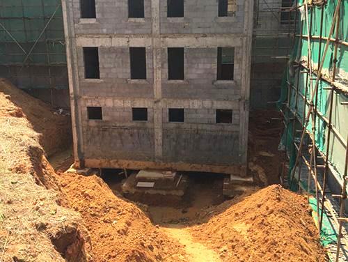 建筑平移纠偏工程