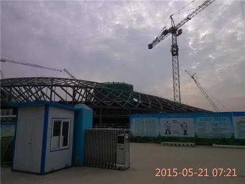 2015年5月襄阳科技馆无损切割(2)