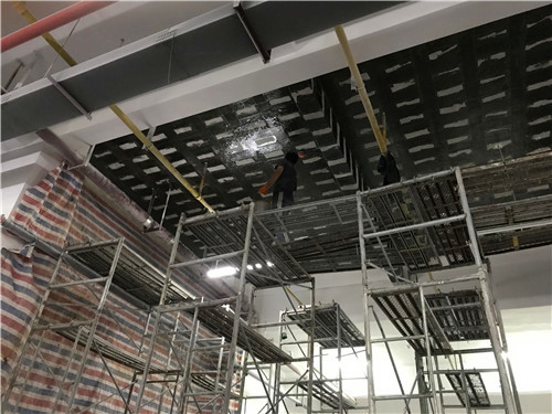 武汉市公安局东湖新技术开发区分局碳纤维加固