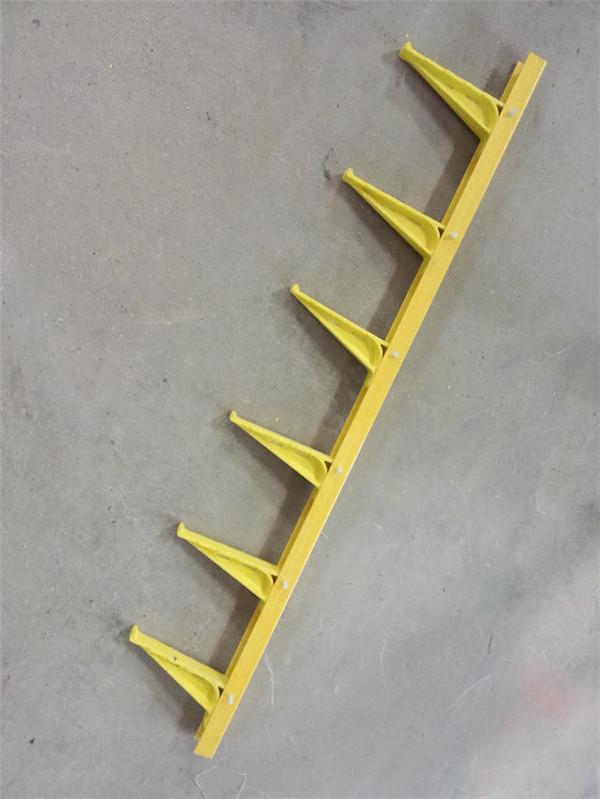 六层,250mm组合式玻璃钢电缆支架