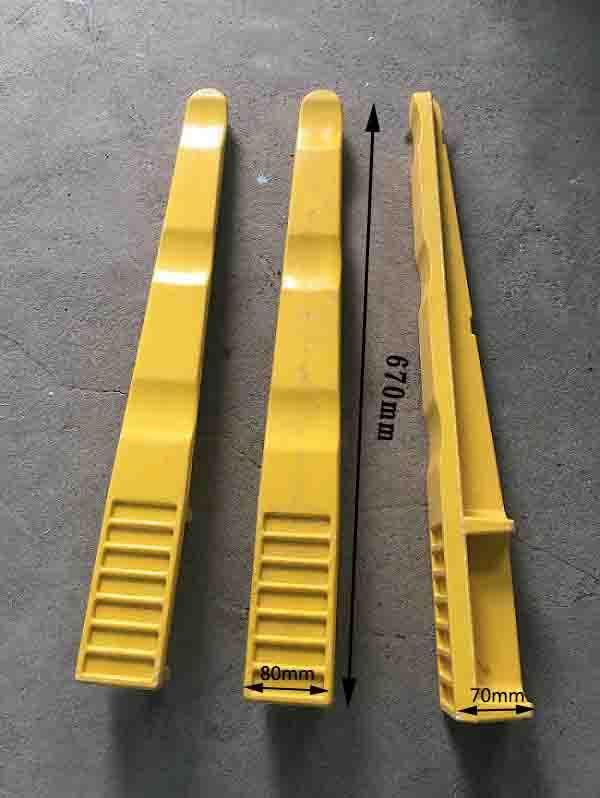 670mm预埋式玻璃钢电缆支架