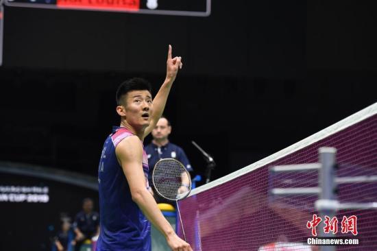 羽毛球世锦赛谌龙不敌安东森 中国男单无缘四强