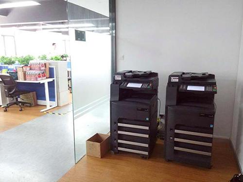 成都打印机出租成功案例