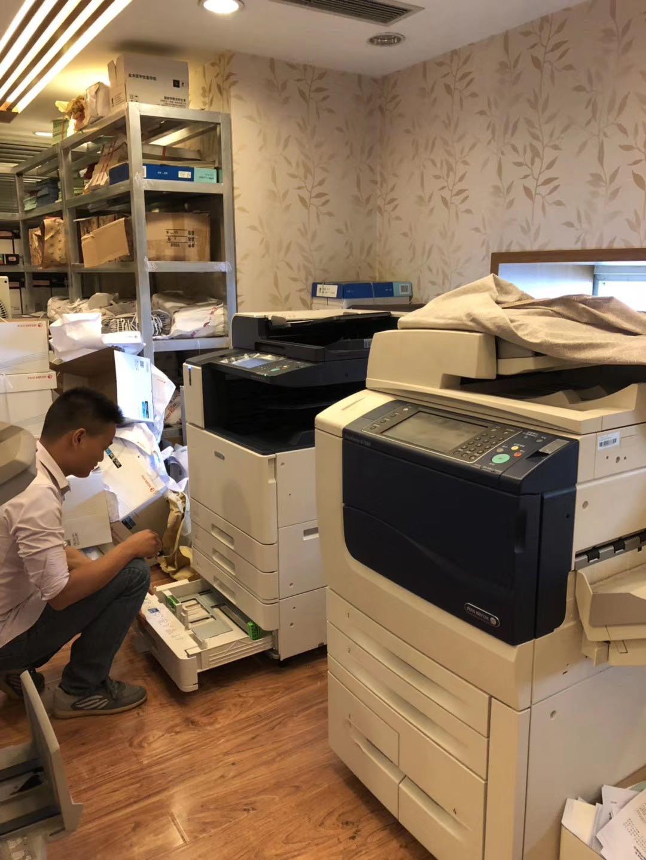 成都打印机安装案例