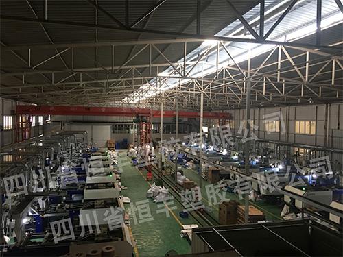 成都塑料托盘生产厂家车间