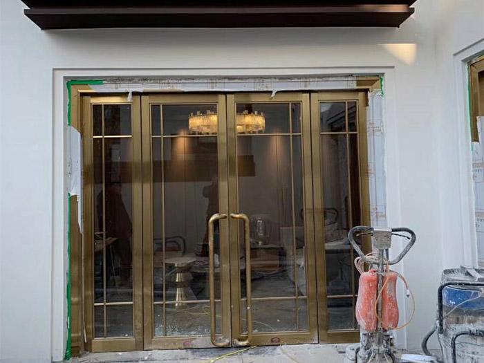 明匠建筑铜门