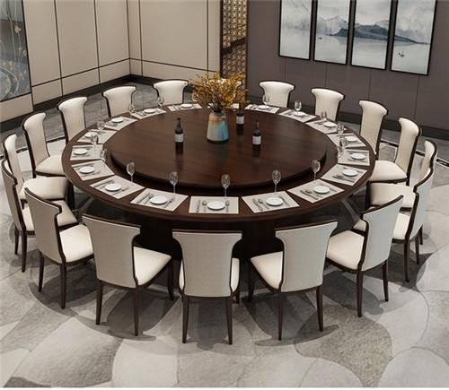 酒店餐桌椅定做注意事项.