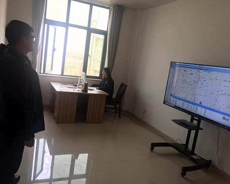总公司生产计划部来检查GPS监控系统-2