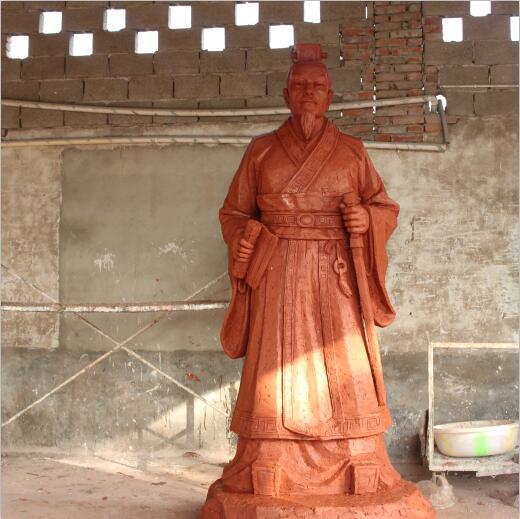 都江堰旅游景区人物雕塑(李冰)