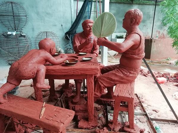 四川泥塑设计