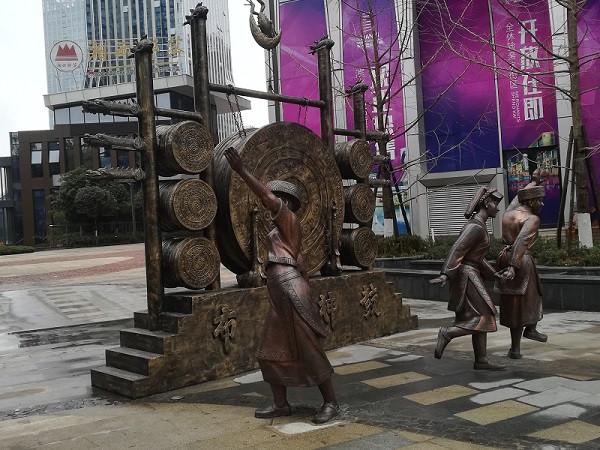 锻铜雕塑制作