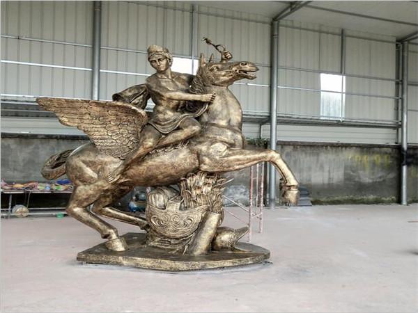 四川玻璃钢雕塑生产