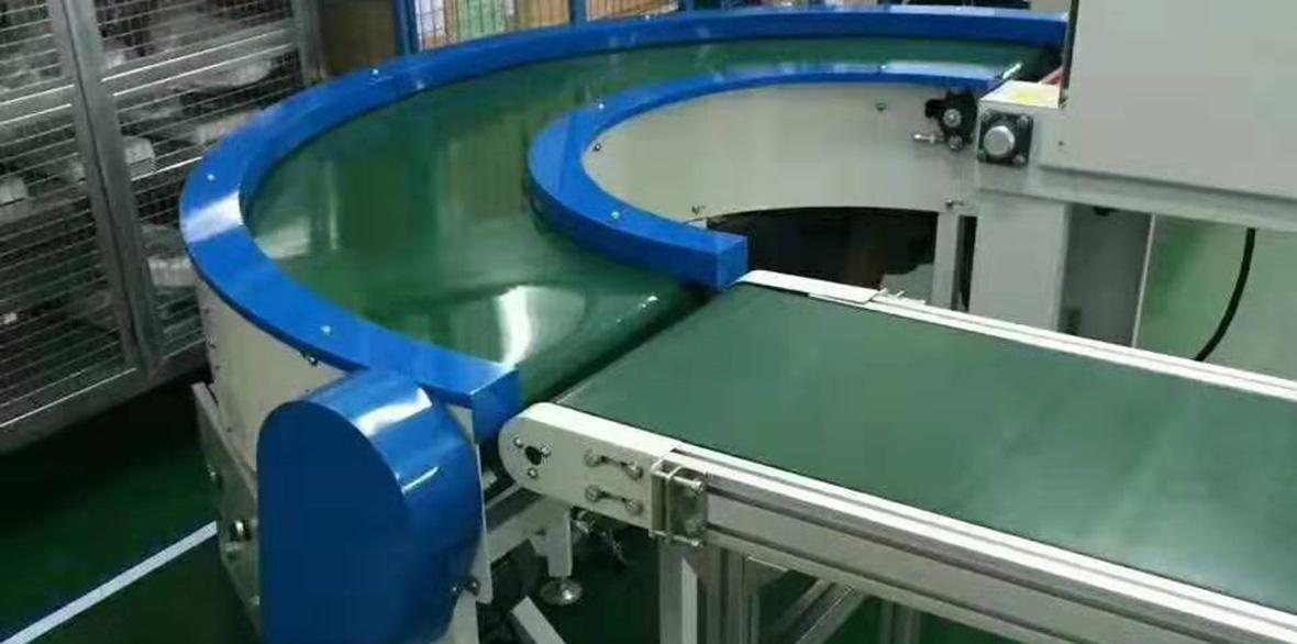 四川PVC輸送帶成功案例