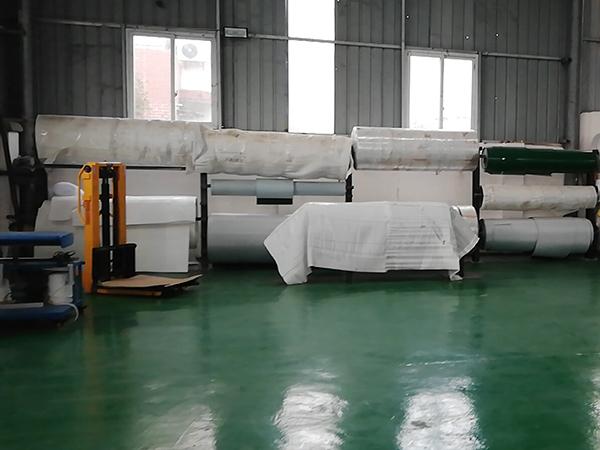 四川传送带生产公司厂区环境