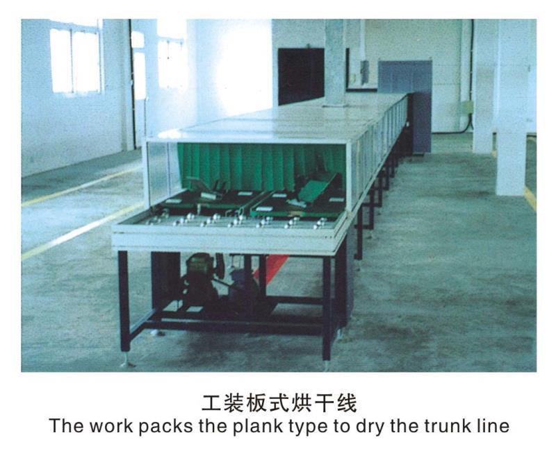 四川工裝板式烘幹線
