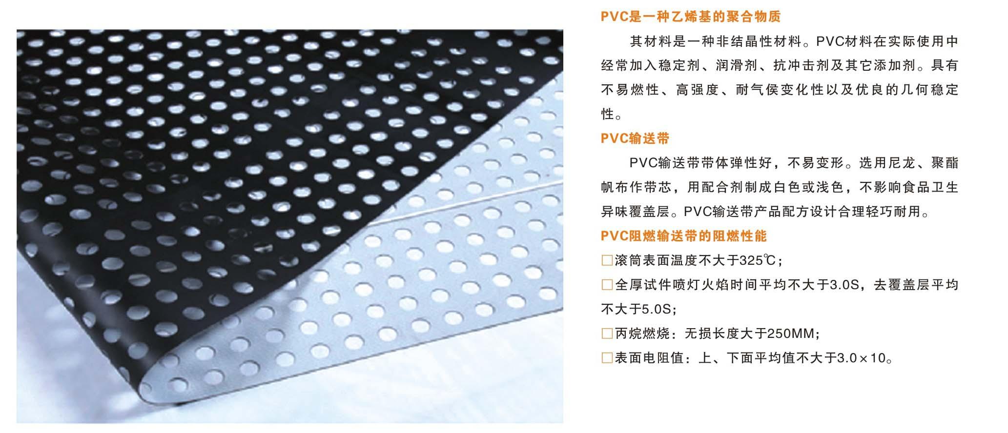四川PVC输送带厂家