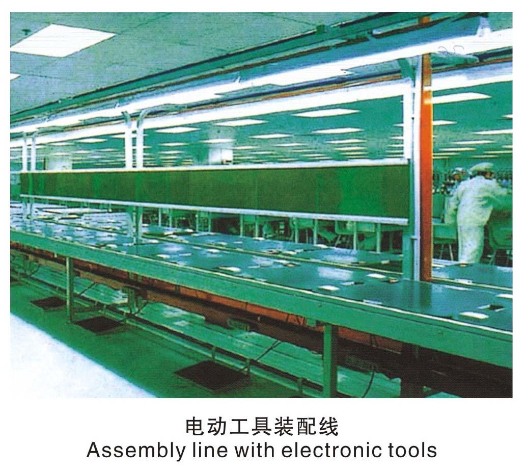 四川電動工具裝配線