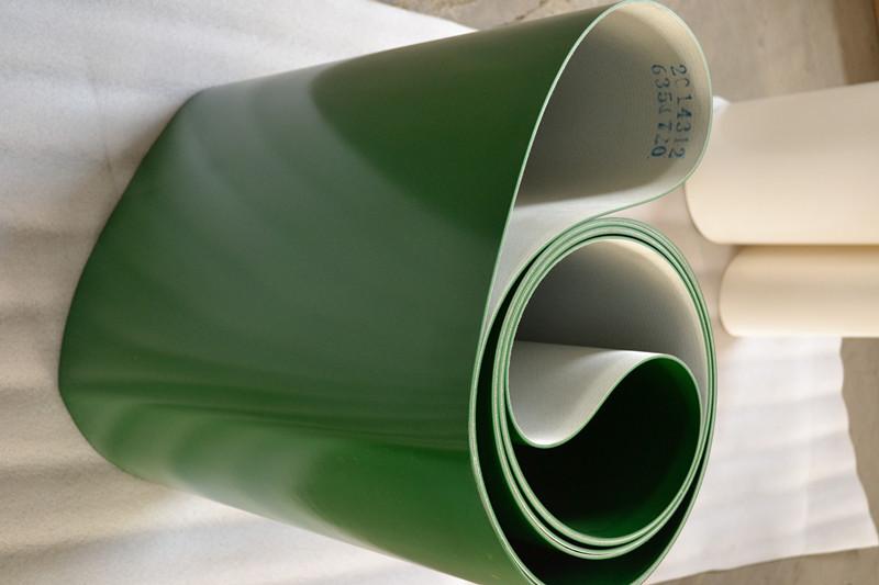 PVC輸送帶在運輸過程中撕裂的原因