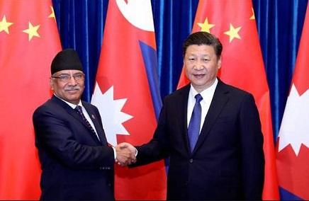 """习大大对尼泊尔进行国访,此访将推动两国共建""""一带一路"""",加快互联互通网络建设"""