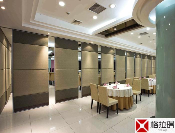武汉酒店餐厅隔断安装