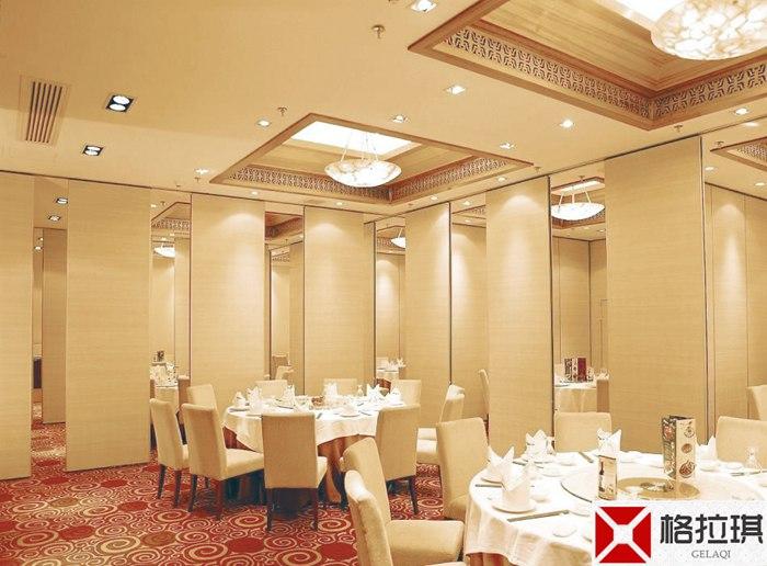 武汉酒店餐厅隔断工程