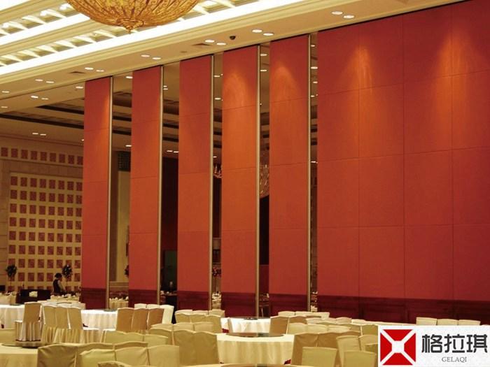 武汉酒店宴会厅隔断安装