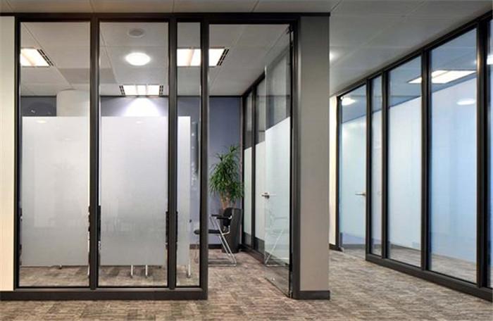 写字楼玻璃隔断方案