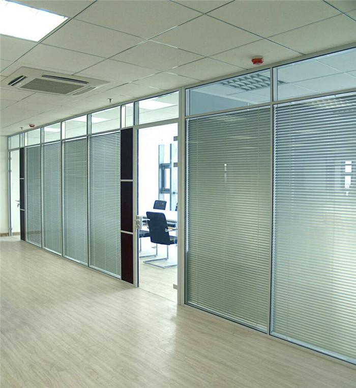 院校玻璃隔断方案