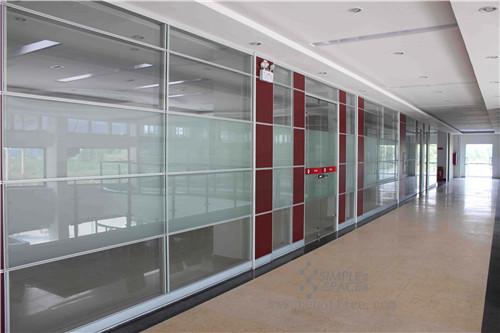 武汉办公玻璃隔断设计