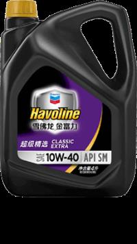 雪佛龙-金富力超级精选机油 SAE 10W-40