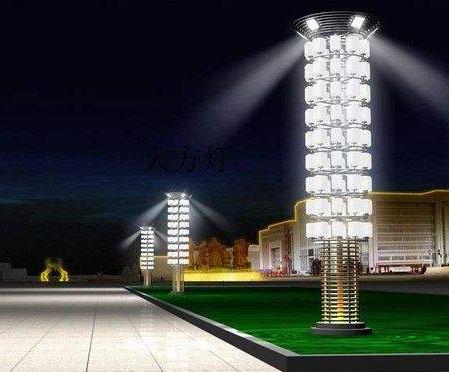 圣伟照明设备案例-成都景观灯