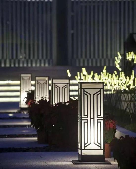 """圣伟的成都庭院灯-夜里的光明""""灯"""""""