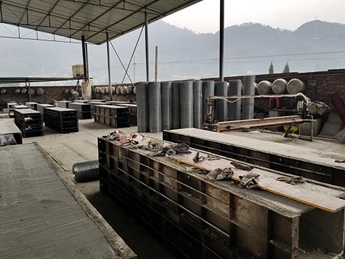 宜宾排烟管道生产厂区环境
