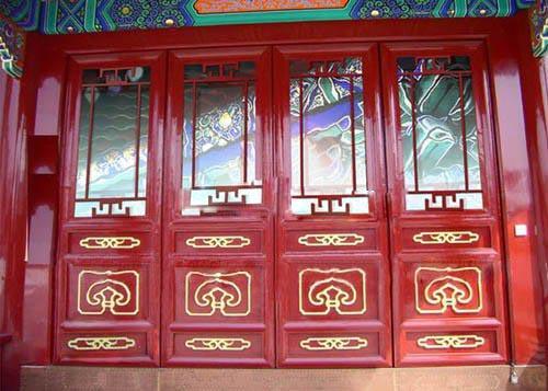 仿古金属门窗