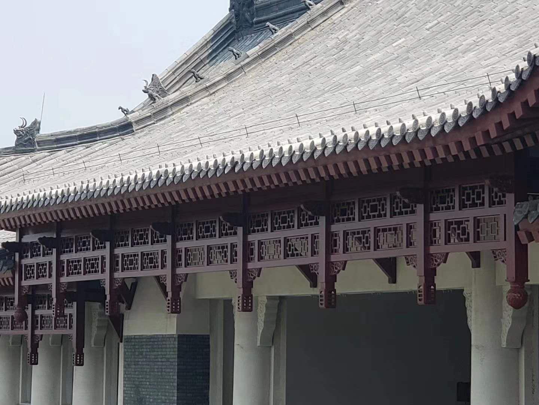 广东河南大学项目—金属挂落