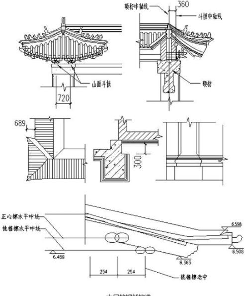 古代斗拱设计图