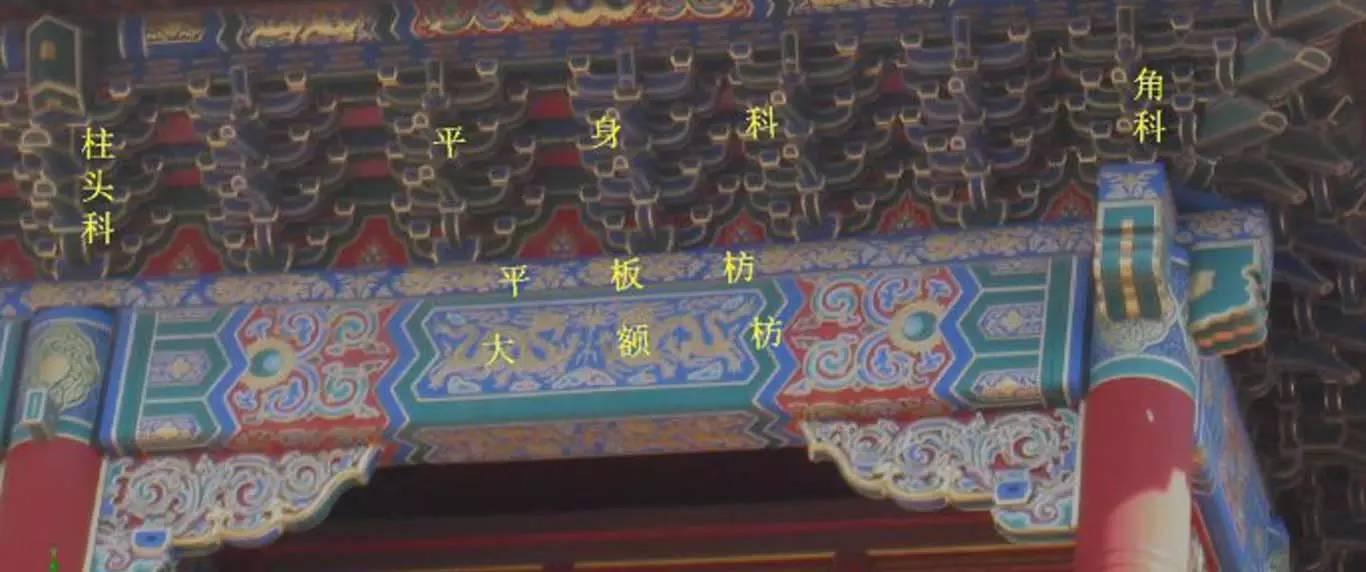 斗拱是中国古代建筑的一种独特形式,西安拓建带你认识斗拱