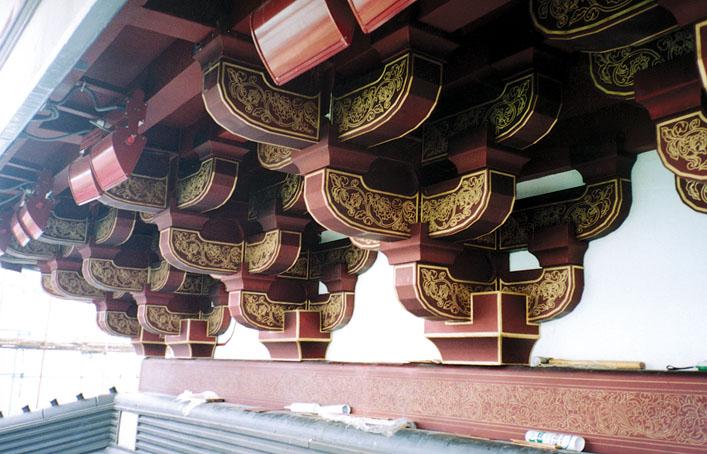 铜装饰-铜斗拱