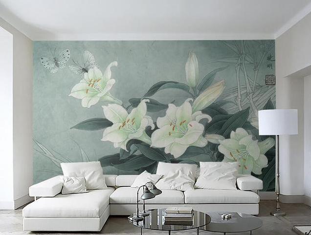 新房定制壁画,一面墙的惊艳