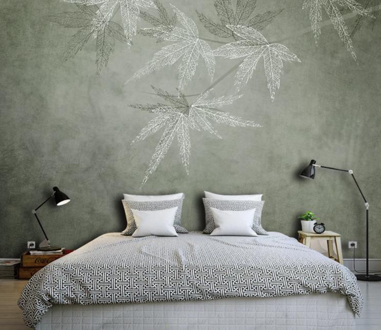 家中装修贴这样的个性无缝壁纸,想低调都难