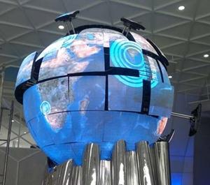 异屏崛起-异形LED显示屏更受市场欢迎