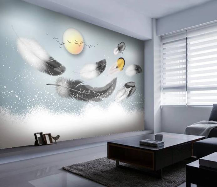 无缝壁画相比墙纸都有哪些明显优势