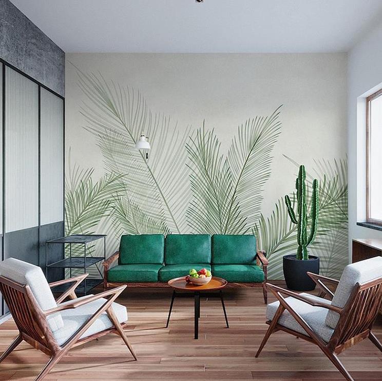 无缝墙布在不同的空间如何选择色调