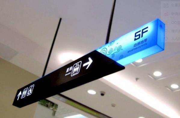商场标识导视系统制作参考