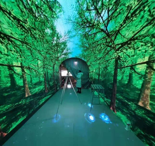 LED时光隧道屏的视觉享受