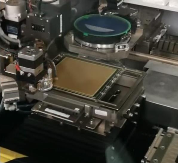 COB模组芯片图